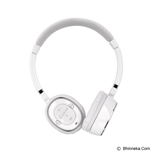 LUXA2 Bluetooth Stereo Headphones [BT-X3] - White - Headphone Portable